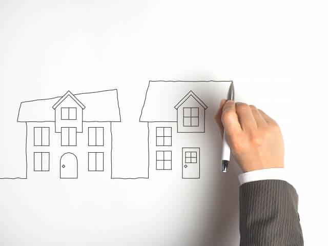 理想の家を描く