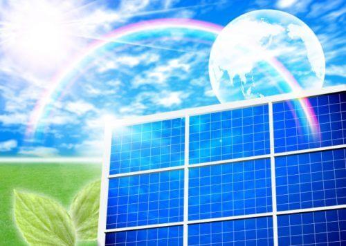 太陽光発電のイメージ