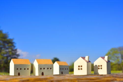 土地に建つ住宅イメージ
