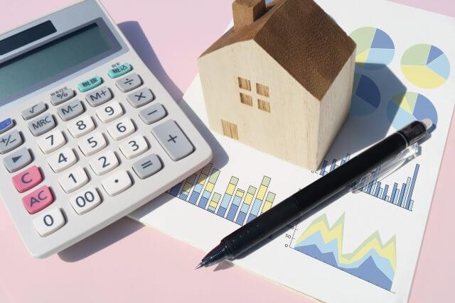 固定資産税評価のグラフ