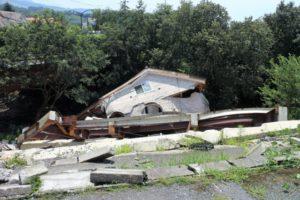 熊本地震の住宅倒壊