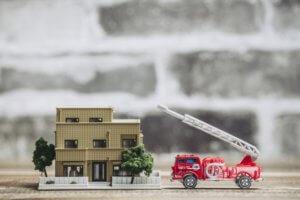 住宅火災イメージ
