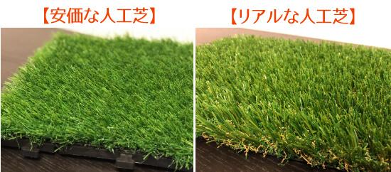 人工芝比較